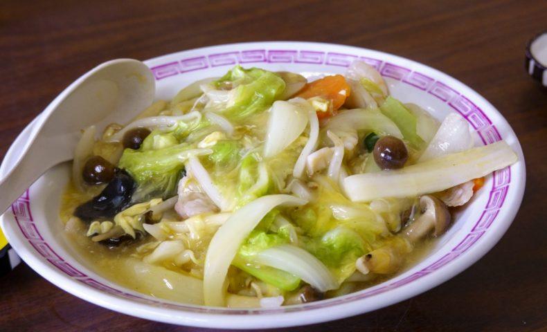 尾道市瀬戸田町『中華菜館 中公軒』、名物の炸子鶏(鶏唐)と中華丼が美味しい♪