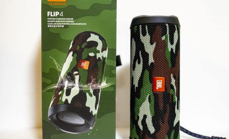 アウトドアに最適!『JBL FLIP4』小型軽量Bluetoothポータブルスピーカー が超便利!