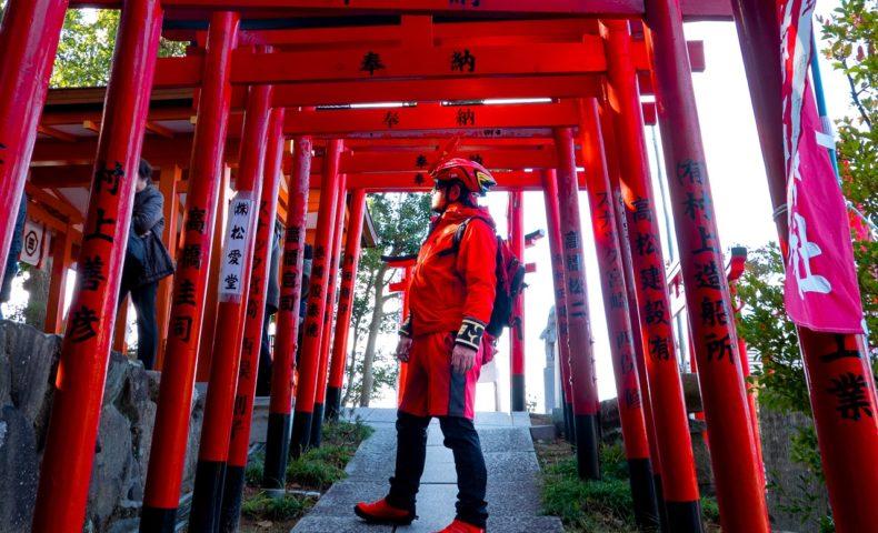 2020年初詣&初ライド約40km☆尾道因島、自転車の神様『大山神社』&初カレー『ルリヲン』!