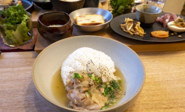 尾道市久保『食卓 soe』1日8食限定ランチ!舌も心も癒される、路地カフェ♪
