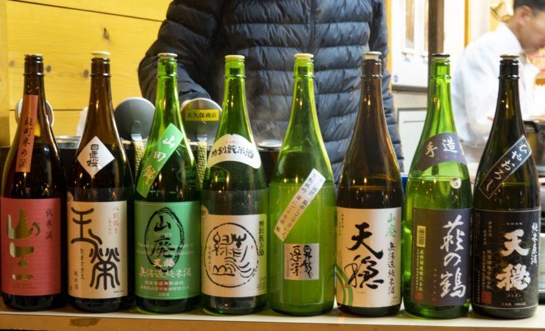 尾道海岸通り『でべらーマンの日本酒バー 2020/1/25』絶品燗酒&でべらーマン特製煮込み♪