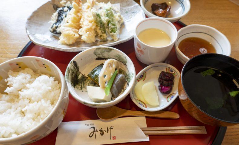 福山市今津町『季節料理・仕出し みかげ』人気和食店でいただく、平日お昼限定セット♪