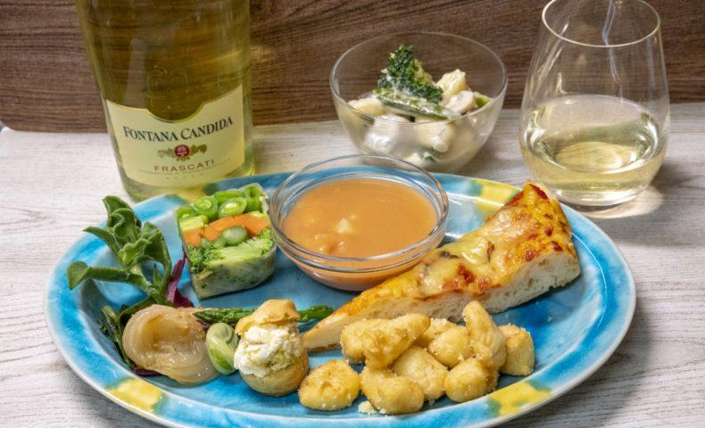 福山市川口町『イル・ピッチコット』お野菜たっぷりで体が喜ぶニョッキ、フォカッチャ♪