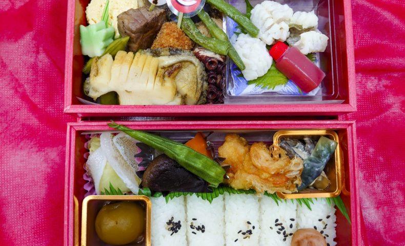 尾道市久保『割烹旅館 竹村家』の「ついに開幕!カープ応援弁当」が素晴らしかった♪