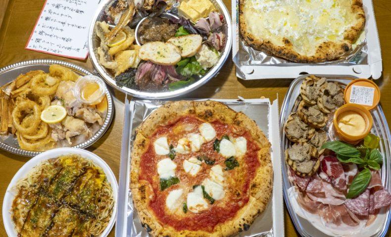 【向島3店合同デリバリー】『居酒屋せいちゃんち』『Pizzeria Felix』『お好み焼&鉄板焼 鐵咲。』