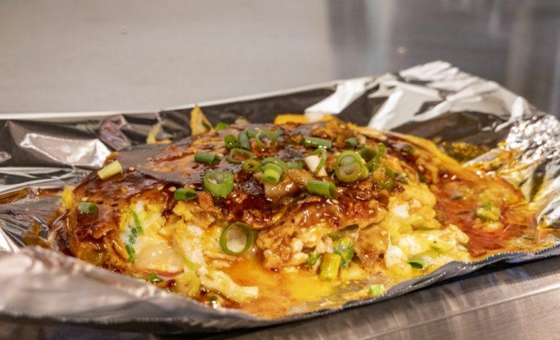 尾道市向島町『お好み焼 鉄板焼 鐵咲。』、定番も新作「食べラー豚ネギ玉」もぶち旨い♪