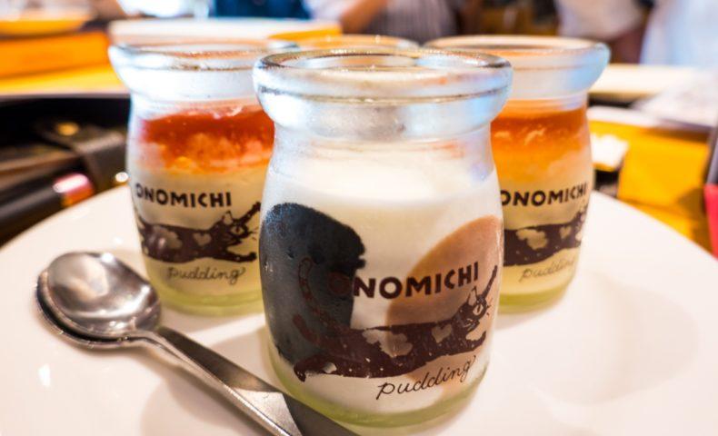 尾道海岸通り『尾道レスポワール ドゥ カフェ』みけねこプリンやロールケーキが可愛い&美味しい!