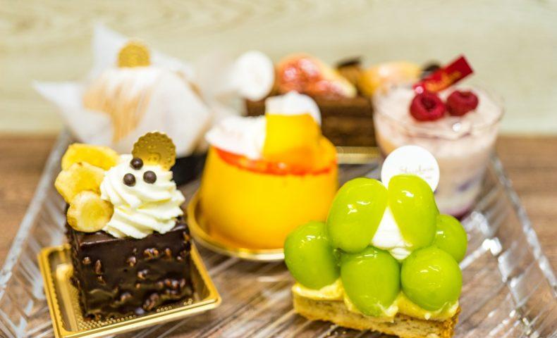 福山市春日町『白ばら 春日店』、1963年から続く福山有名店のケーキとサブレ♪