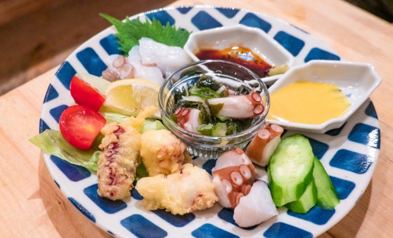 尾道新開で毎週土曜日にオープンする『タコ漁師の居酒屋 一丸』at シェアキッチン『今日は!』
